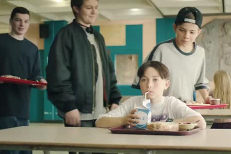 Les Producteurs de lait du Québec nous ont... (Image tirée d'une vidéo)