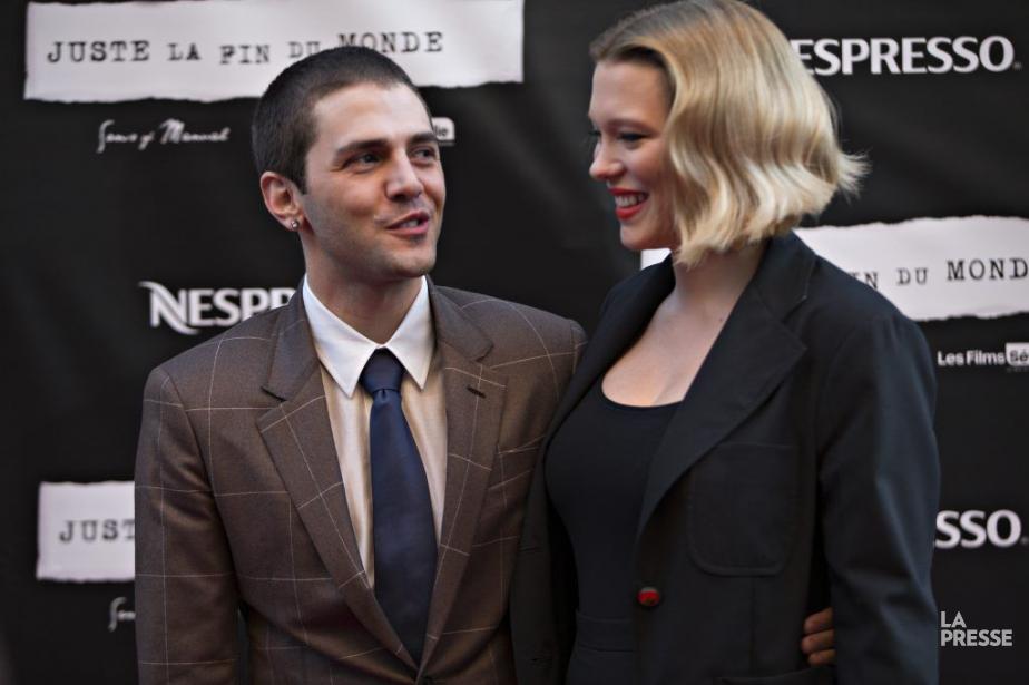 Xavier Dolan et Léa Seydoux à la première... (PHOTO OLIVIER JEAN, LA PRESSE)