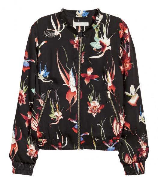 Bomber à motif (59,99 $) chez H&M (Photo fournie par H&M)