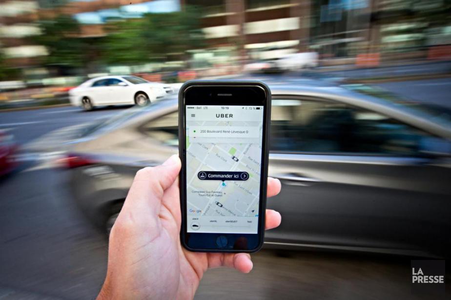Le service UberX demeure illégal jusqu'au 29septembre, le... (La Presse, Patrick Sanfaçon)