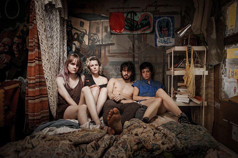 Gabrielle Tremblay,Charlotte Aubin,Laurent Bélanger etEmmanuelle Lussier-Martinez incarnent quatre... (Photo fournie par K-Films Amérique)
