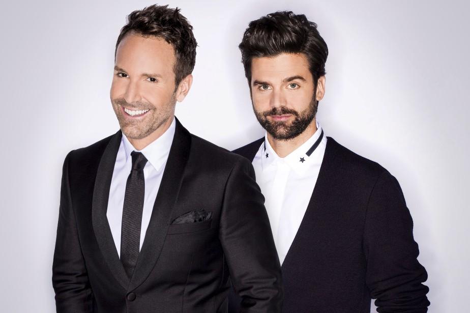 Éric Salvail et Jean-Philippe Wauthier... (Photo fournie par ICI Radio-canada Télé)