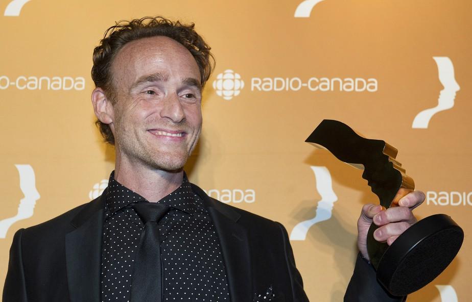 Vincent Leclerc a gagné dans la catégorieMeilleur premier rôle masculin : série dramatique saisonnière, pour sa performance dans Les pays d'en haut. (La Presse Canadienne)