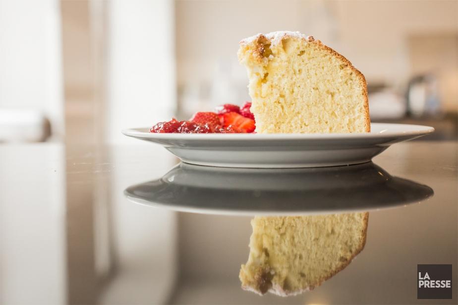 Gâteau blanc  Marie-Eve Morasse  Dessert