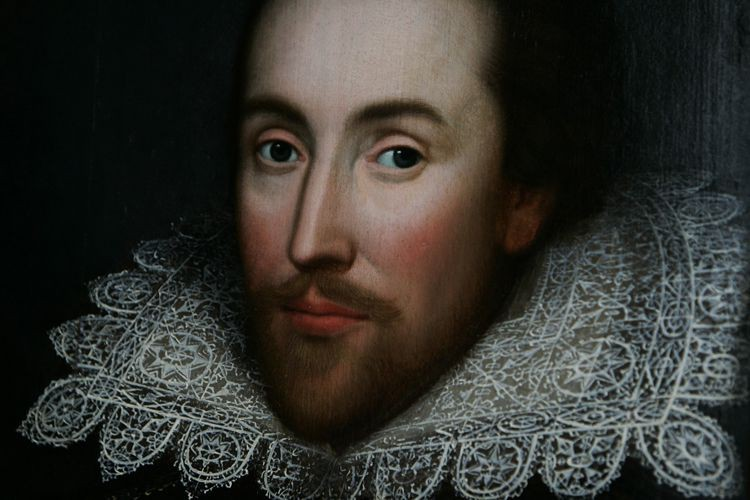 Un portrait de William Shakespeare... (PHOTO ARCHIVES AP)