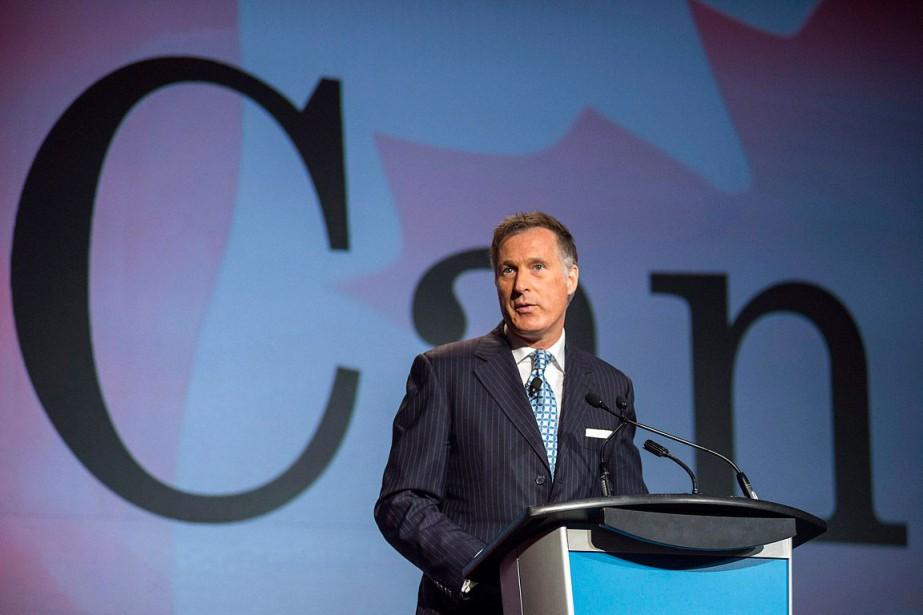 Maxime Bernier estcandidat à la direction du Parti... (Photo Eduardo Lima, archives La Presse Canadienne)