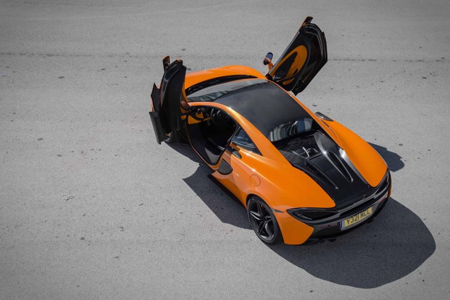 Une McLaren 570S... (Photo fournie par McLaren)