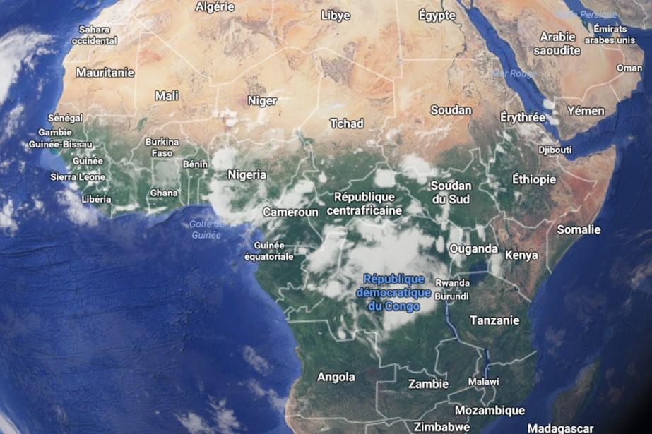 La grande majorité des populations actuelles serait issue... (Image Google maps)