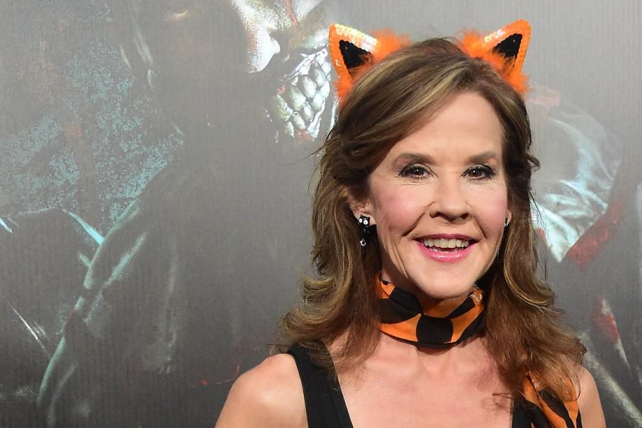 Linda Blair était présente au lancement des soirées... (PHOTO AFP)