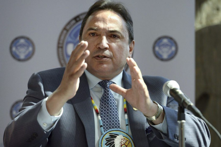 Perry Bellegarde... (Photo Justin Tang, archives La Presse Canadienne)
