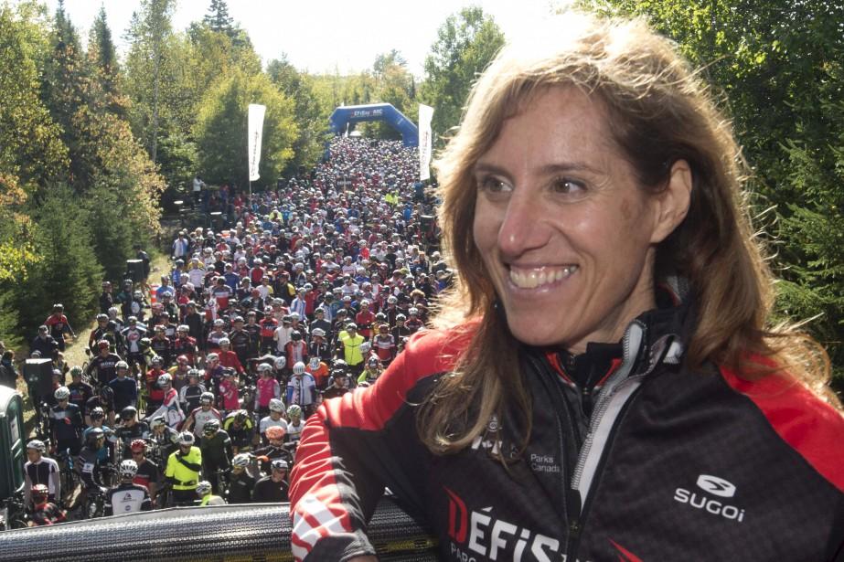 La directrice générale et fondatrice des Défis du parc, Marie-Josée Gervais. (Sylvain Mayer)
