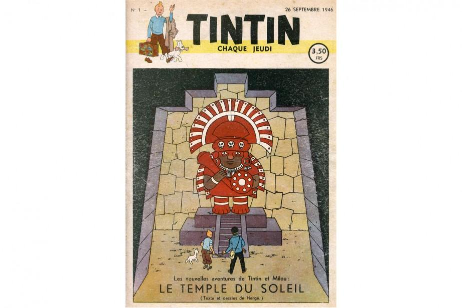 Le premier numéro du Journal Tintin, daté du... (PHOTO TIRÉE DE GOOGLE IMAGES)