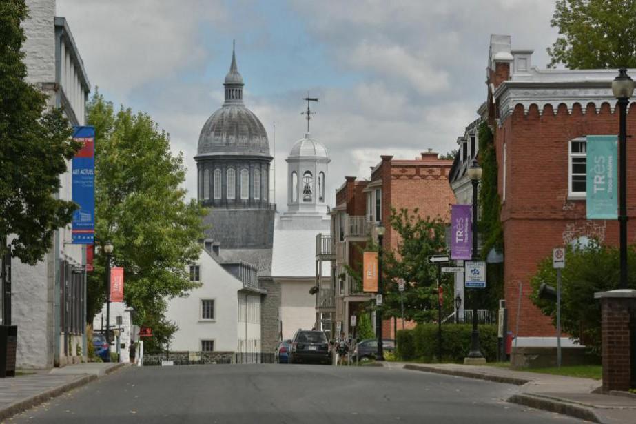 Les rues historiques du Vieux-Trois-Rivières, avec le remarquable... (Photo François Gervais, archives Le Nouvelliste)