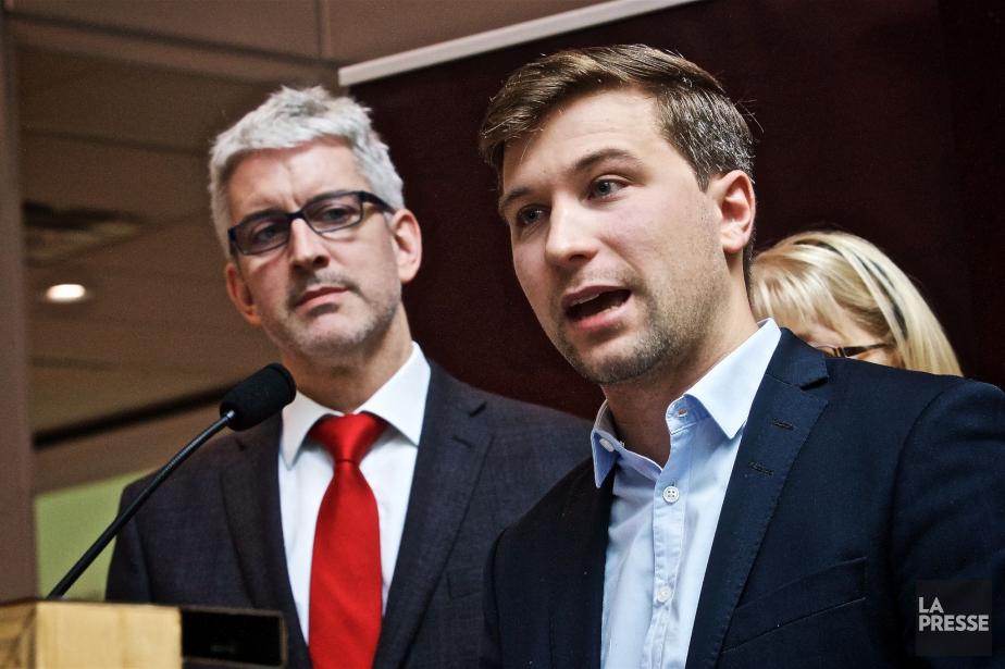 L'ex-leader étudiant Gabriel Nadeau-Duboisa quitté l'émission matinale de... (PHOTO ANDRÉ PICHETTE, LA PRESSE)