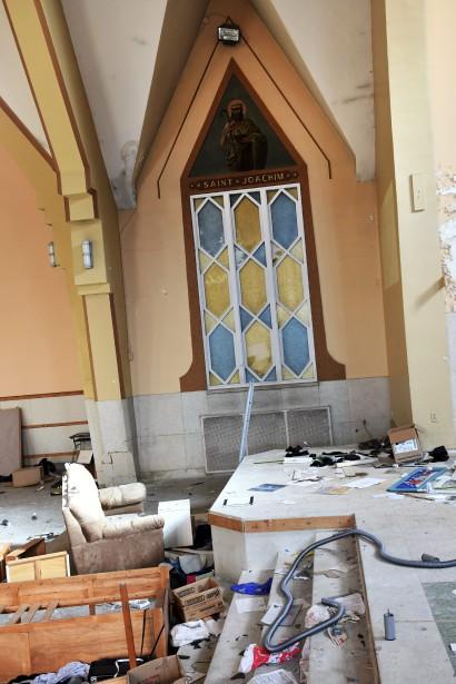 La vue qui s'offre à Saint Joachim a bien changé. (Photo Le Quotidien, Rocket Lavoie)