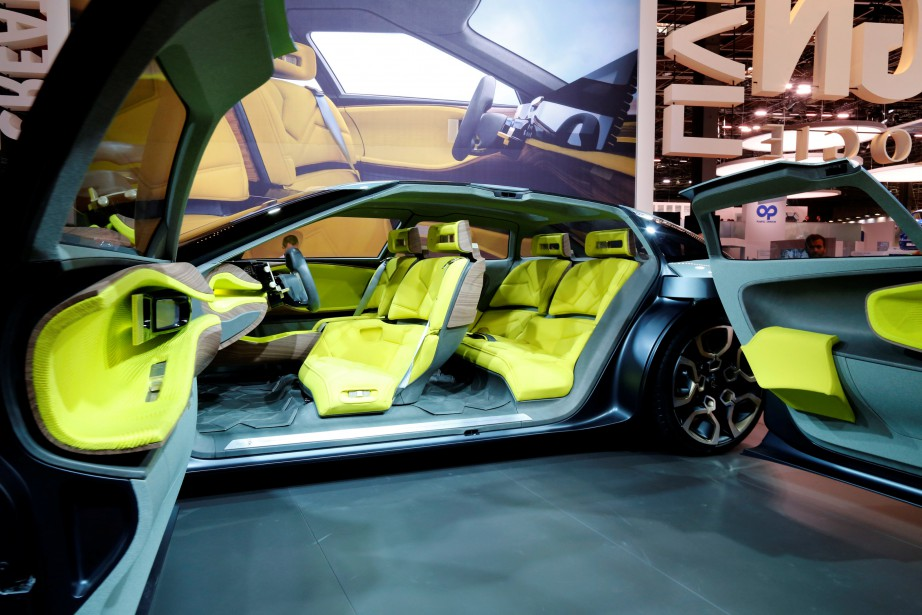 La Citroën CXperience a ouvert ses portes en même temps que le Mondial de l'automobile de Paris. (REUTERS)