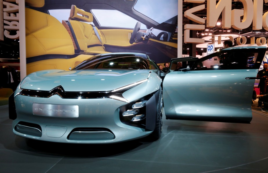 La Citroën CXperience a fait sensation à l'avant-première médias du Mondial de l'automobile. (REUTERS)