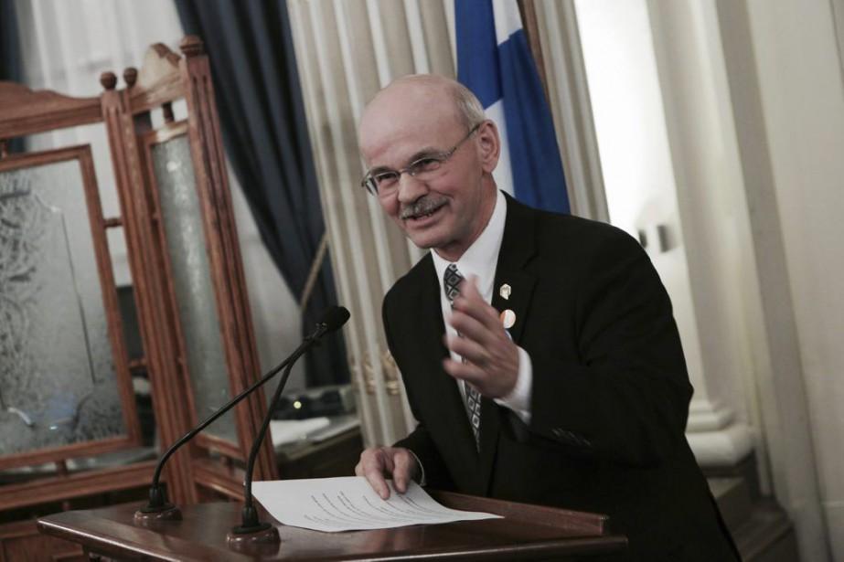 Richard Lehoux, président de la Fédération québécoise des... (Francis Vachon)