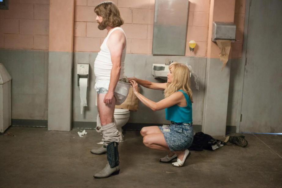 Zach Galifianakis et Kristen Wiig dans Masterminds de... (PHOTO GLEN WILSON, FOURNIE PAR ARMORED CAR PRODUCTIONS)