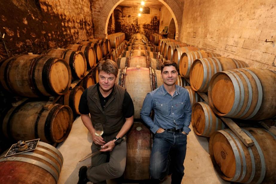Emmanuel Fourny, chef de cave du Champagne Veuve... (PHOTO AFP)