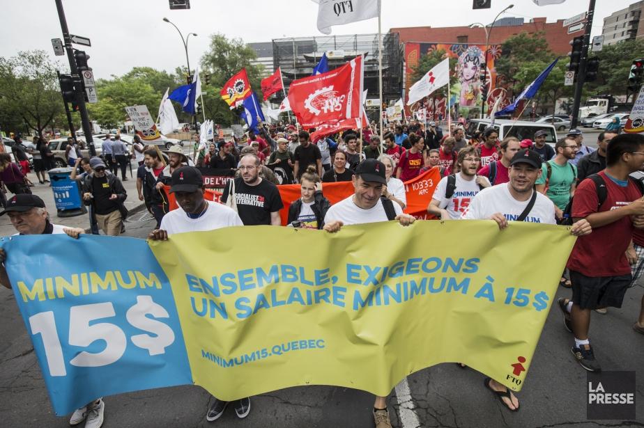 Une manifestation s'était également tenue à Montréal le... (PHOTO EDOUARD PLANTE-FRÉCHETTE, ARCHIVES LA PRESSE)