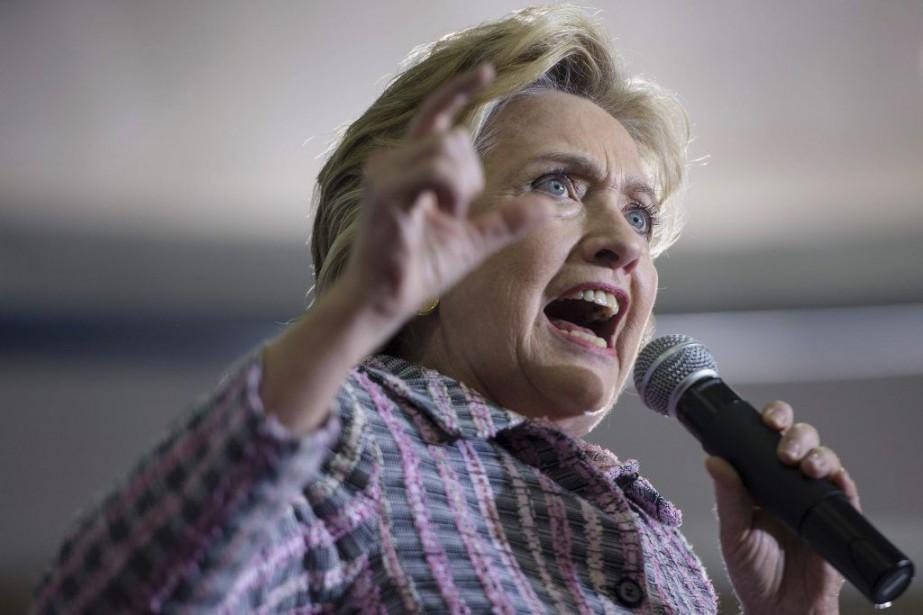 Hillary Clinton... (BRENDAN SMIALOWSKI, AFP)