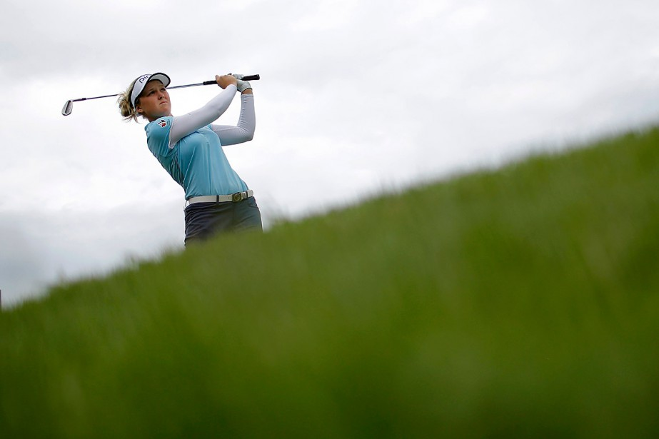 Brooke Henderson... (Photo Laurent Cipriani, archives AP)