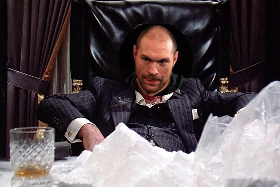 Le controversé boxeur britannique Tyson Fury s'est... (PHOTO TIRÉE DE TWITTER)
