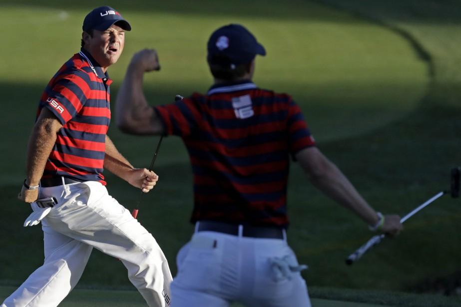 Les États-Unis ont gagné trois des quatre matchs... (Photo Chris Carlson, AP)