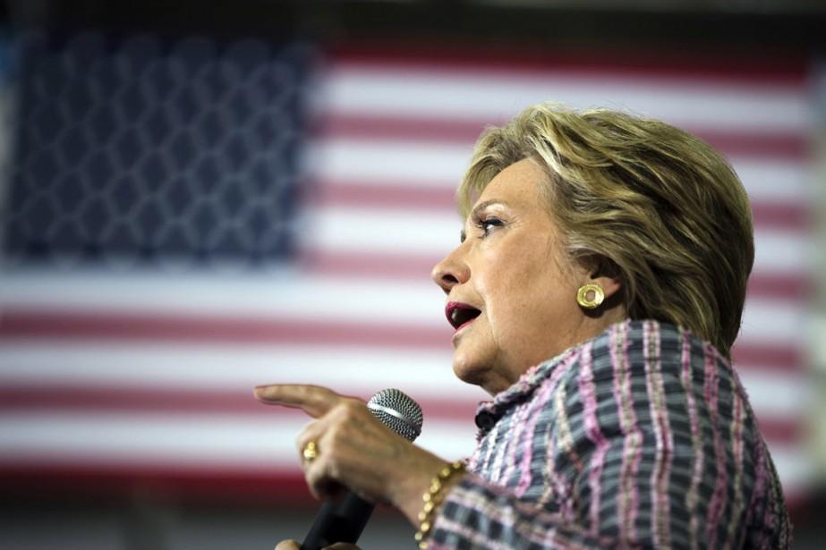 La candidate démocrate Hillary Clinton à Coral Springs,... (Photo Matt Rourke, AP)