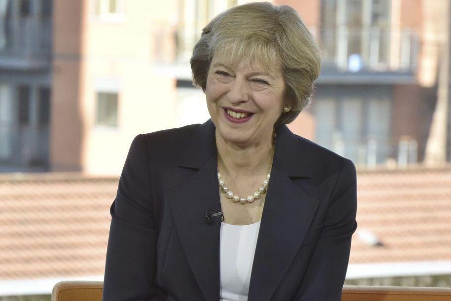 Theresa May... (Photo Jeff Overs, Reuters/BBC)