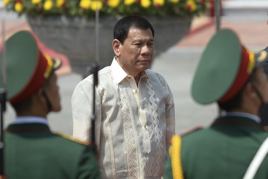 Rodrigo Duterte... (PHOTO HOANG DINH Nam, ARCHIVES Associated Press)