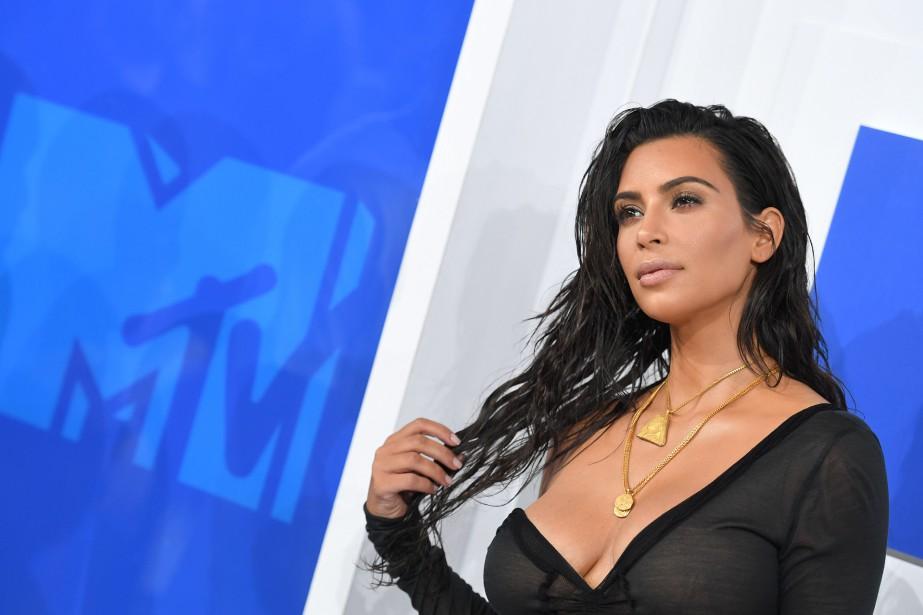 Kim Kardashian... (PHOTO ARCHIVES AFP)