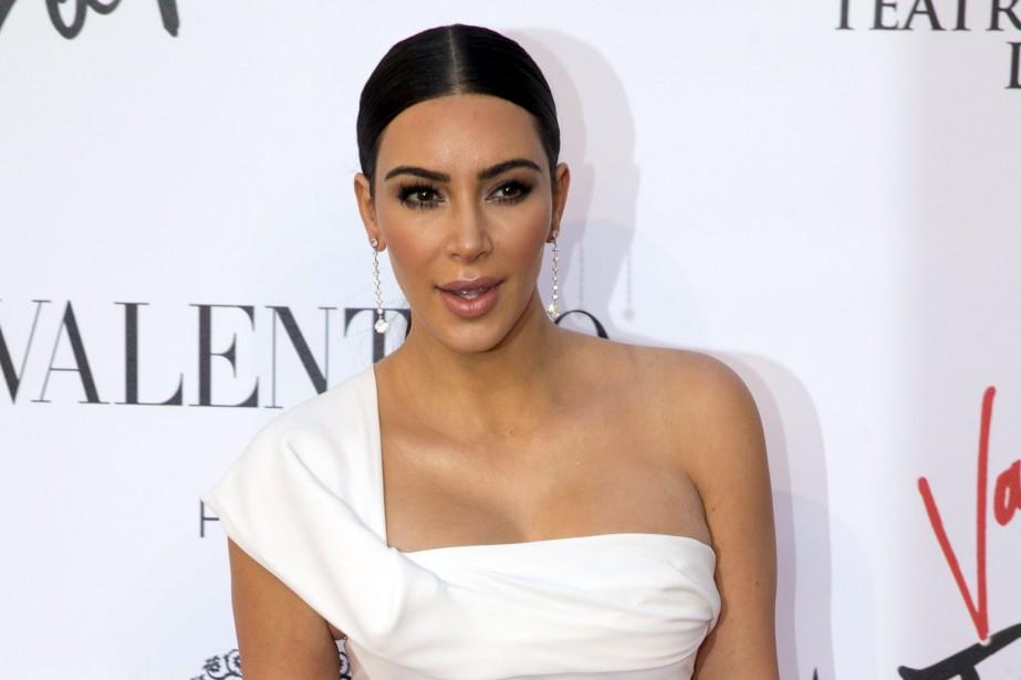 Kim Kardashian... (PHOTO ARCHIVES AP)