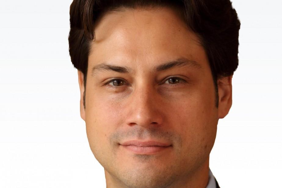 Olivier Marcil était vice-président aux communications et aux...