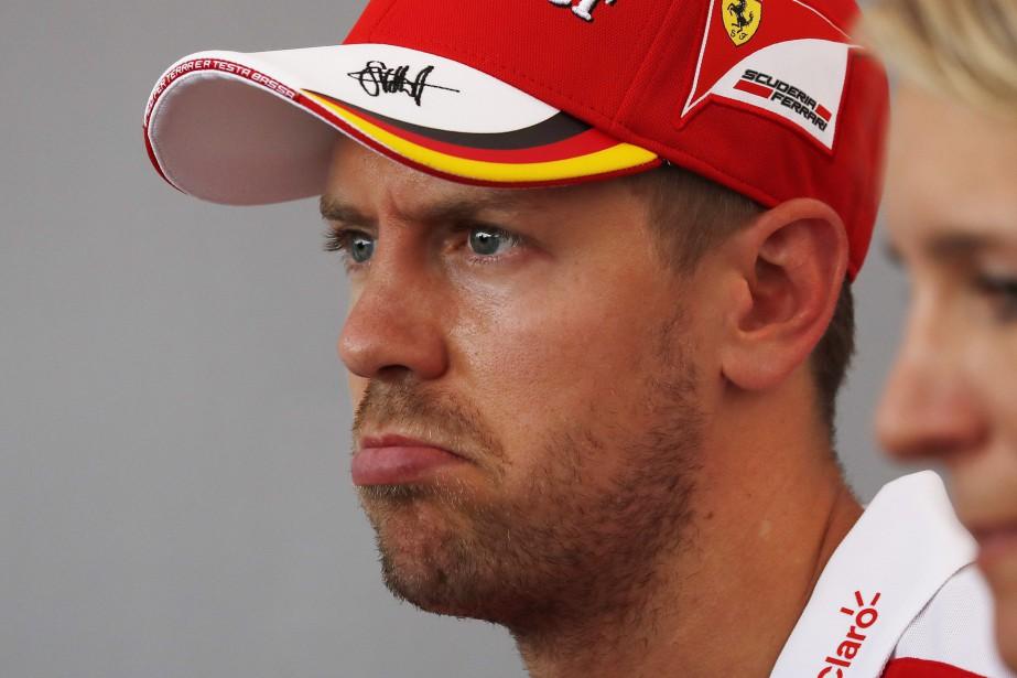 Ça va mal pour Sebastien Vettel et sa... (photo AP)
