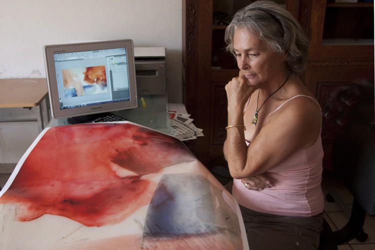 Barbara McClatchie Andrews dirigeait une galerie sans but... (ARCHIVES PC)