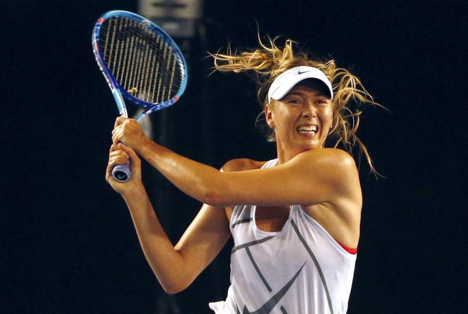 Maria Sharapovaa été contrôlée positive au meldonium en... (Photo David Gray, archives REUTERS)