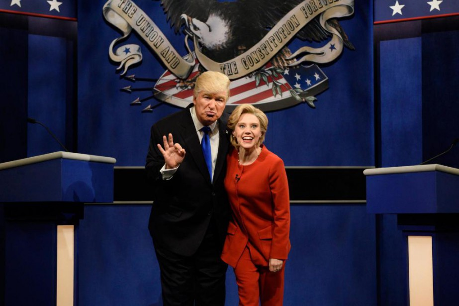 L'imitation de Donald Trump par Alec Baldwin fait... (photoWill Heath, fournie par NBC)