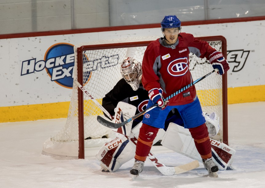 Carey Price et Brendan Gallagher (Photo Marco Campanozzi, La Presse)