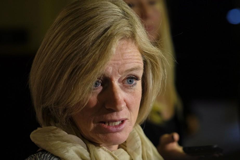 La première ministre de l'Alberta, Rachel Notley... (PHOTO Jeff McIntosh, LA PRESSE CANADIENNE)