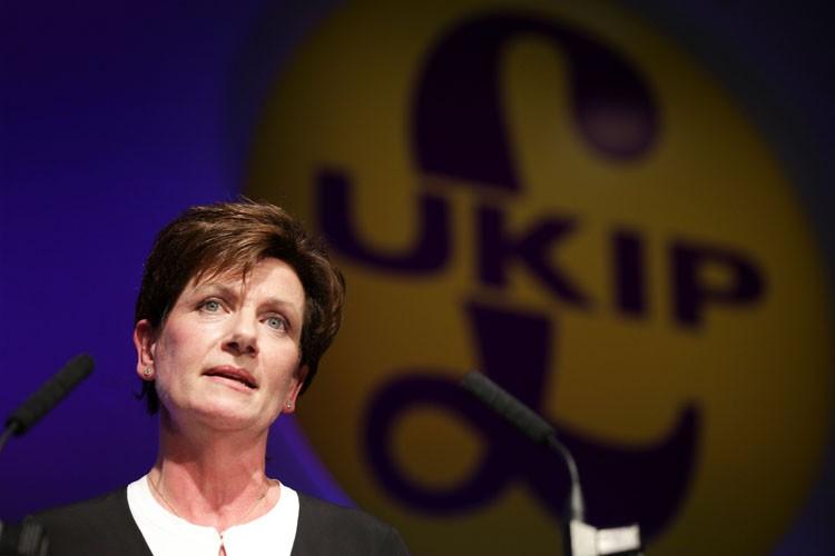 Diane James avait été choisie par les militants... (PHOTO AFP)