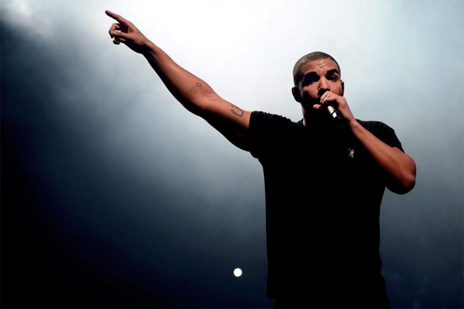 Drake... (PHOTO ARCHIVES LA PRESSE CANADIENNE)