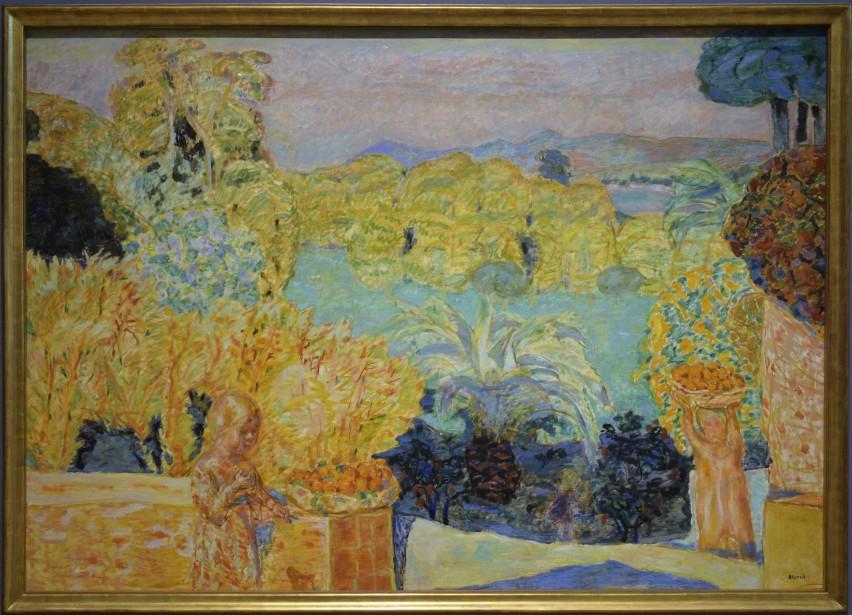 <i>Paysade du Midi et deux enfants</i>, 1916-1918. Huile sur toile, 139,1 x 198,1 cm (Le Soleil, Patrice Laroche)