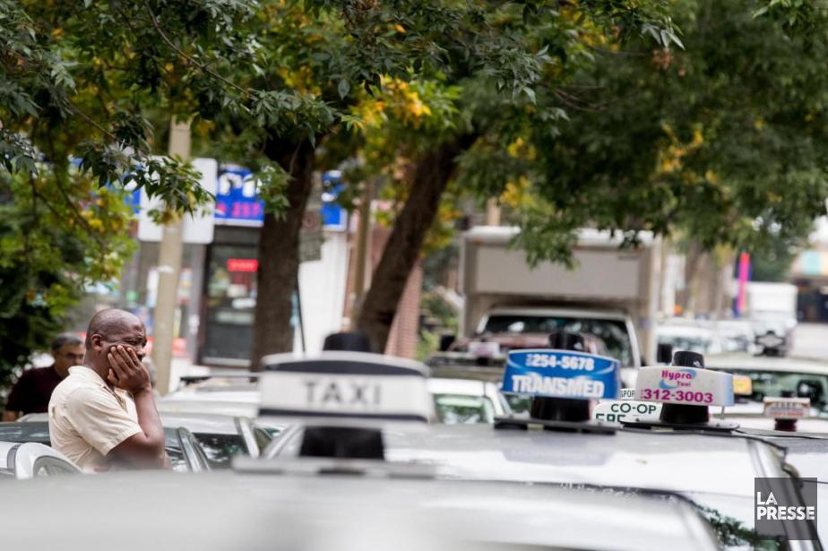 Le Front commun du taxi propose un plan... (Photo Marco Campanozzi, archives La Presse)