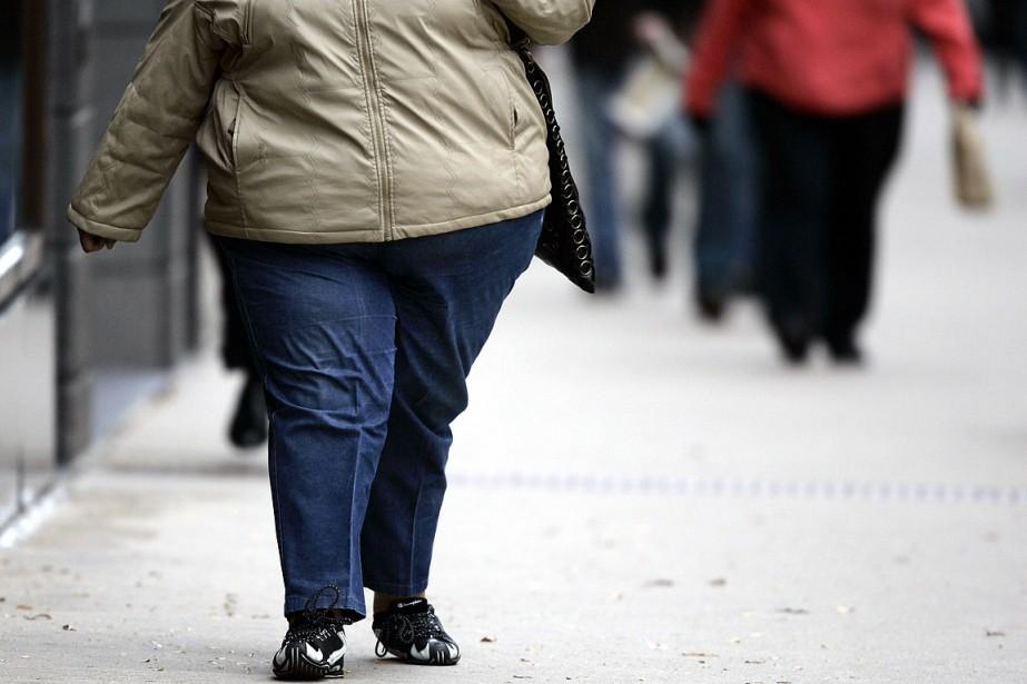Les enfants dont la mère était obèse étaient... (Photo AFP)