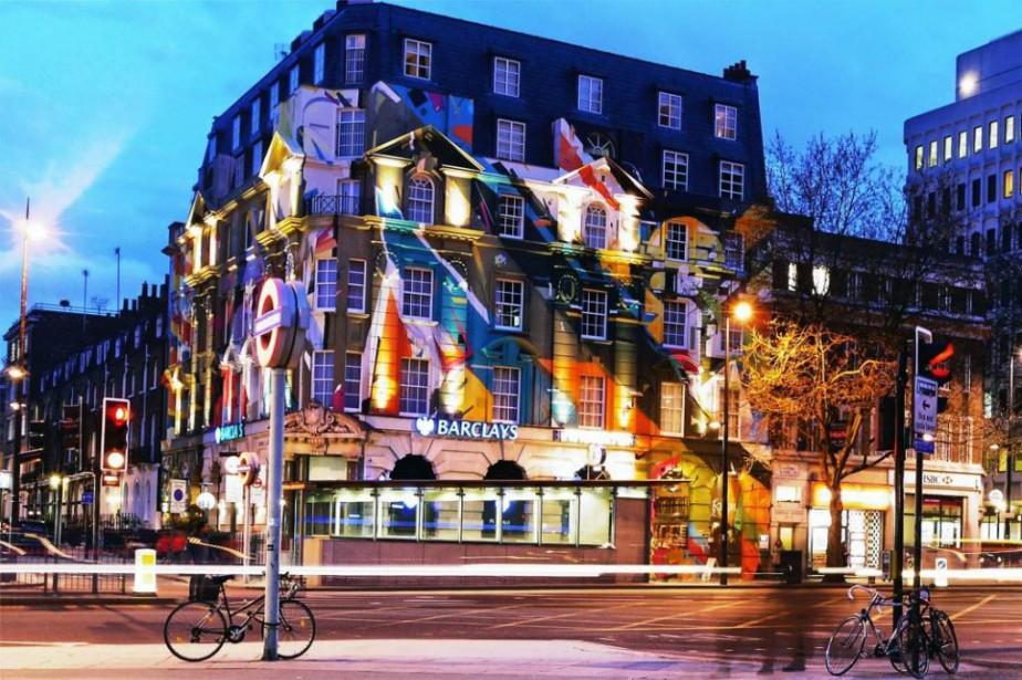 L'hôtel Megaro est installé dans un grand bâtiment... (Photo fournie par l'hôtel Megaro)
