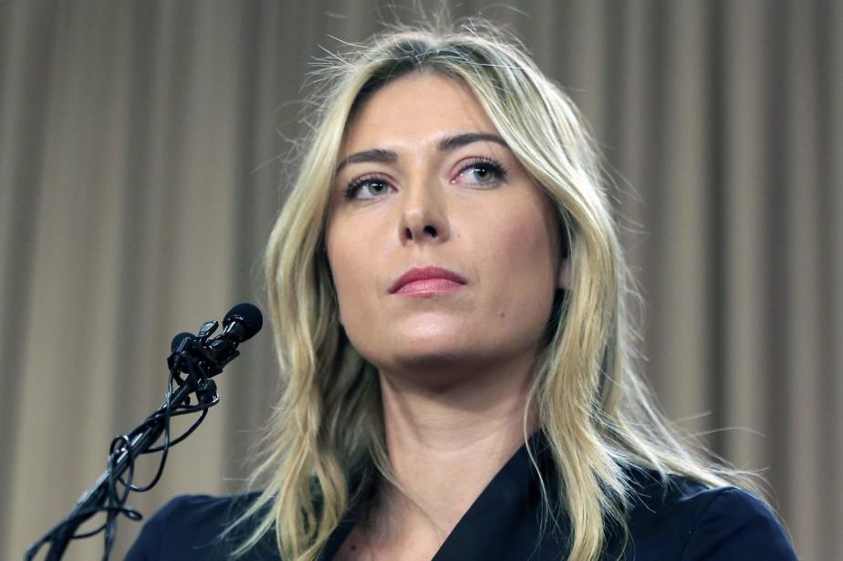 Maria Sharapovaa accusé la Fédération internationale de tennis... (Photo Damian Dovarganes, archives AP)
