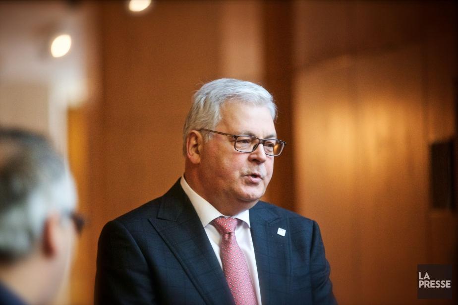 Le président et chef de la direction de... (PhotoAndré Pichette, La Presse)