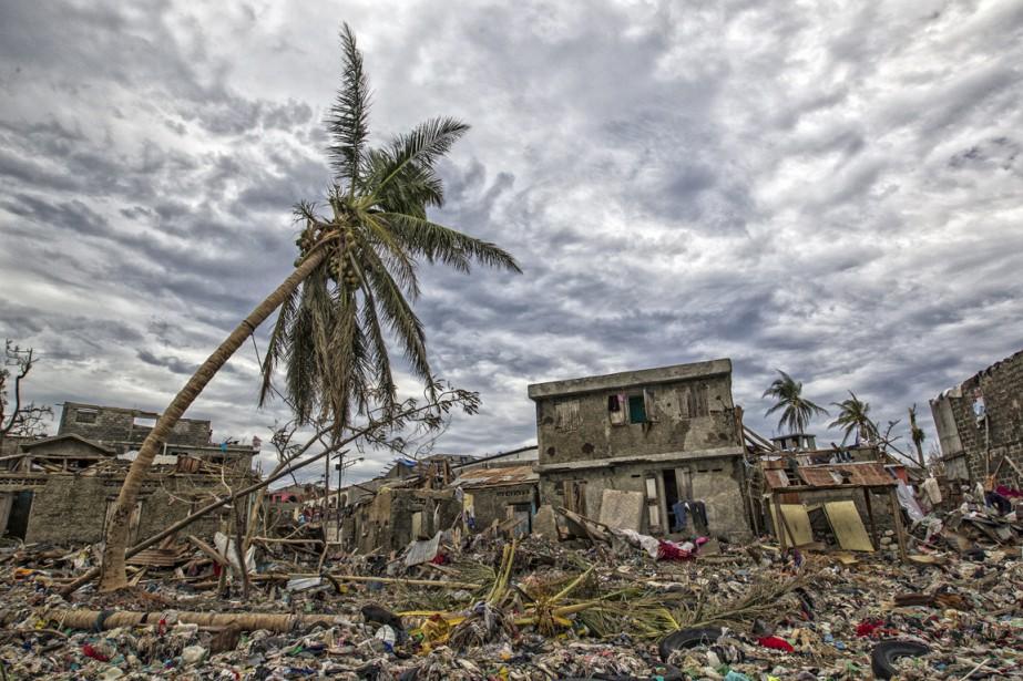 Scène de désolation à Jérémie, dans le sud d'Haïti, le 6 octobre. (photo UNICEF Canada)